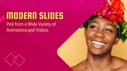 Modern Slideshow Maker with Geometric Motion Graphics 781