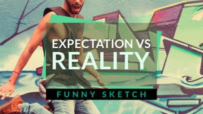 YouTube Thumbnail Maker for a Funny Sketch 936