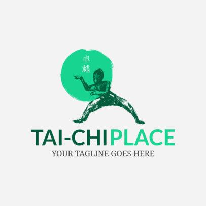Martial Arts Logo Maker for Tai Chi Place 1605c