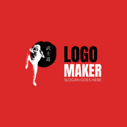 Martial Arts Logo Design Maker 1605e
