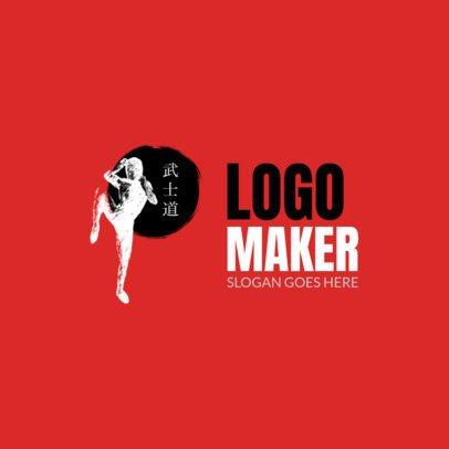 Martial Arts Logo Design Maker 1605e