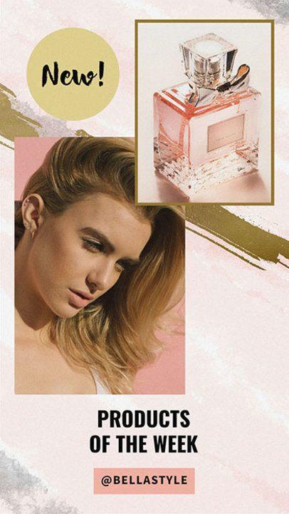Insta Story Maker for a Beauty Influencer 947