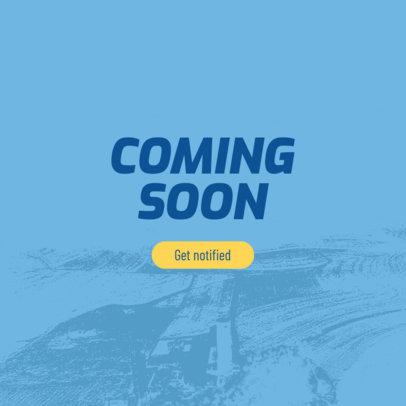 Online Banner Maker for a Coming Soon Banner Design 380f