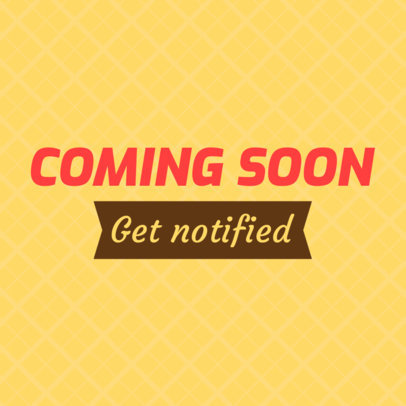 Colorful Coming Soon Banner Maker 374f