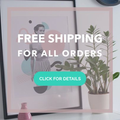 Simple Free Shipping Banner Maker 269f