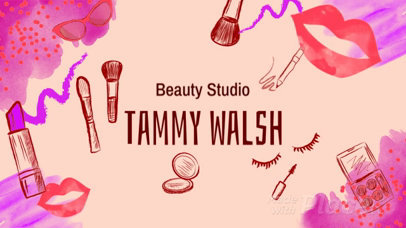 Service Overview Slideshow Video Maker for a Beauty Tutorial 895