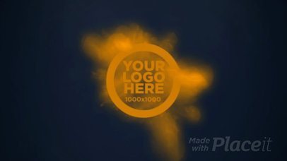 Logo Intro Featuring Bursting Particles a188b
