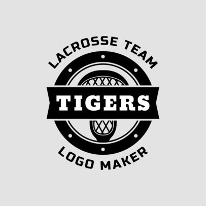 Lacrosse Logo Generator for a Lacrosse Team 1593
