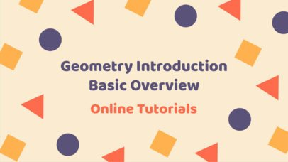 YouTube Thumbnail Maker with Geometric Graphics 905e
