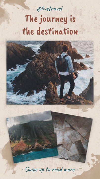 Instagram Story Template for Travel Instagram Influencers 971