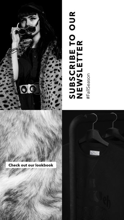 Insta Story Maker for a Fashion Newsletter 969