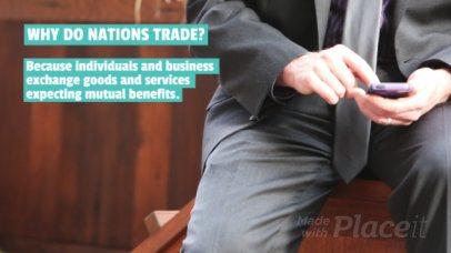 Content Teaser Slideshow Maker for an Economics Video 466f 828