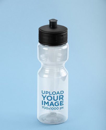 Translucent Sports Bottle Mockup 24444
