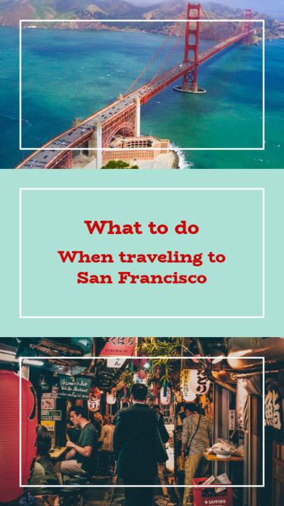 Instagram Story Maker for a Travel Blog Post 956a