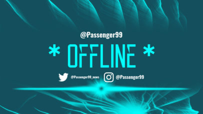 Twitch Offline Banner Maker for a Cool Twitch Account 983d