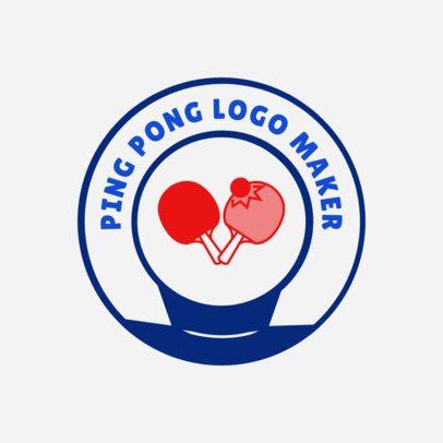 Ping-Pong Logo Maker 1627e