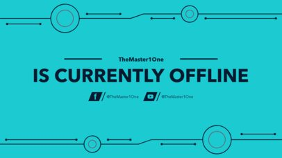 Twitch Offline Banner Maker for a Minimalist Twitch Account 974e