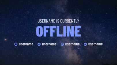 Offline Twitch Banner Maker for a Logged Out User Account 979
