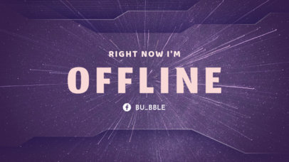 Simple Twitch Offline Banner Maker with Speed of Light Images 982d