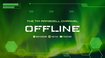 Twitch Offline Banner Maker with Tech Images 978b