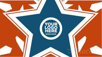 Intro Maker for a Logo Reveal with American Patriot Animations 215b 983