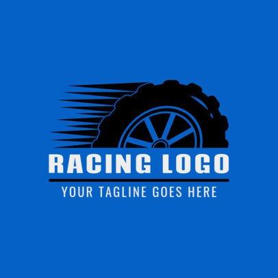 Car Racing Logo Maker 1648d