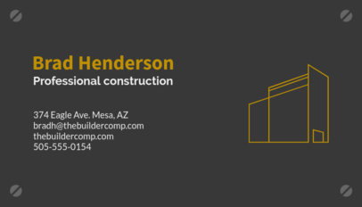 Contractor Business Card Maker 99c