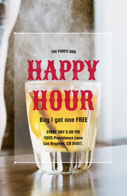 Bar Promotion Online Flyer Maker 173e
