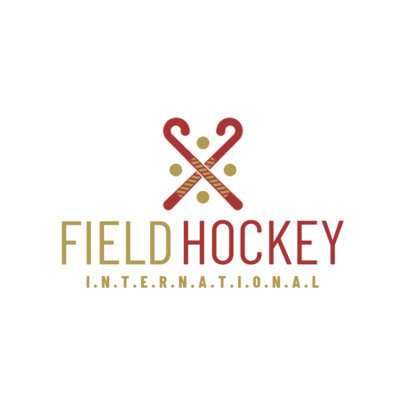 Minimalistic Field Hockey Logo Maker 1620d