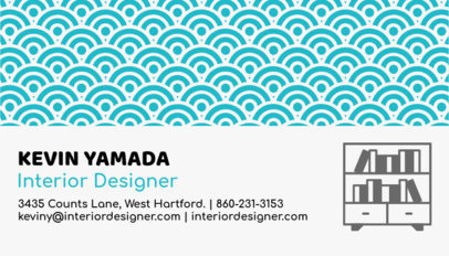 Business Card Maker for Interior Designers 84d