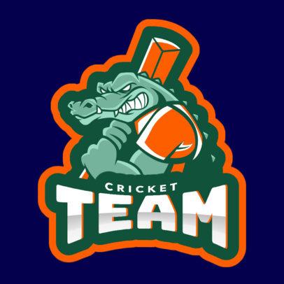 Cricket Team Logo Creator 1649