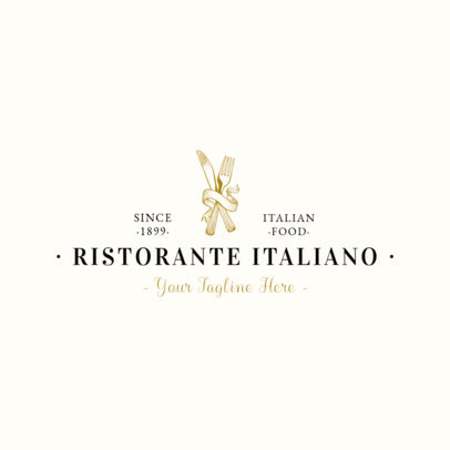 Pasta Restaurant Logo Maker 1659b