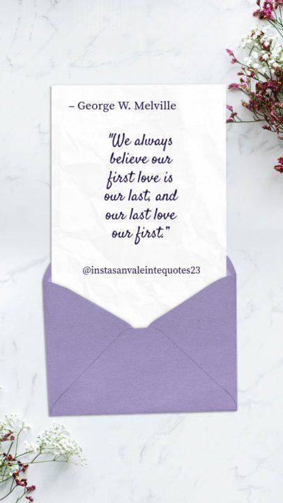 Valentine's Day Quote Instagram Story Maker 1055e