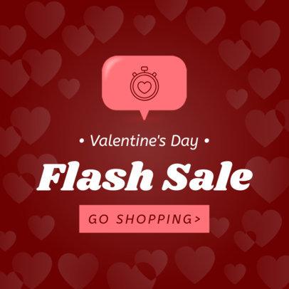 Banner Maker for a Valentine's Day Flash Sale 1056e