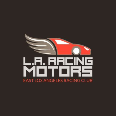 Local Racing Team Logo Maker 1646b