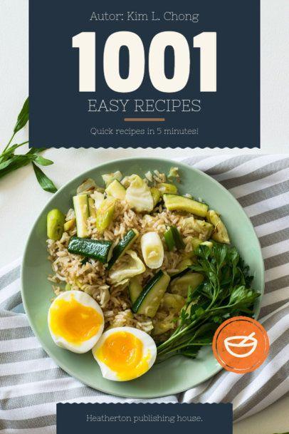 Cookbook Cover Design Maker 909