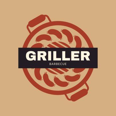 Restaurant Logo Maker for a Barbecue Restaurant 1678