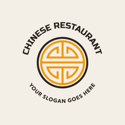 Badge Logo Maker for a Chinese Restaurant 1664