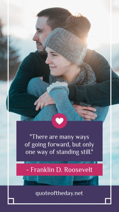 Valentine's Instagram Story Maker for Romantic Quotes 1045b