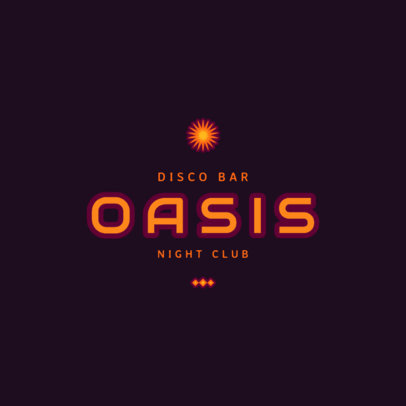 Night Club Logo Template 1679