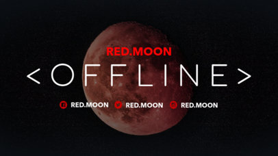 Offline Twitch Banner Maker with Eclipse Images 979a