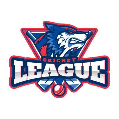 Cricket Team Logo Design Template 1652