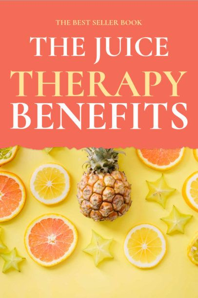Juice Therapy Book Cover Template 917d