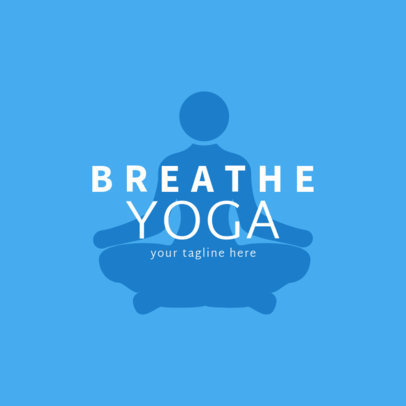 Online Logo Maker for Yoga Professionals 1369b