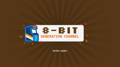 YouTube Channel Banner Template for Gaming Channels 50b