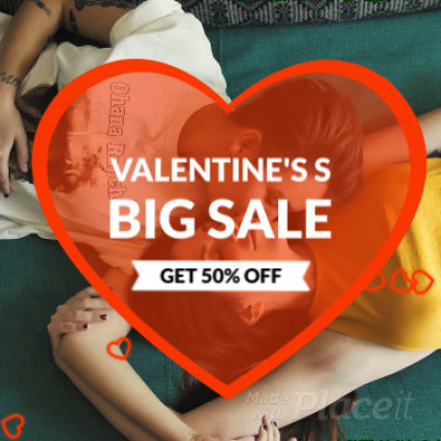 Instagram Video Maker for a Valentine's Day Sale 807d 1114