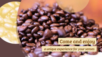 Slideshow Video Maker for a Coffee Shop Promo Video 1046