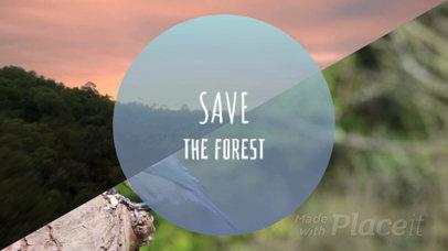 Fundraiser Slideshow Video Maker for a Nature Conservancy Video 1000