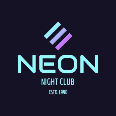 Night Club Logo Generator 1681e