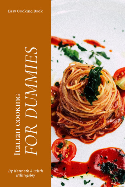 Indian Cooking Book Cover Template 913b
